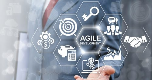 Agile development software business web computer agility nimble